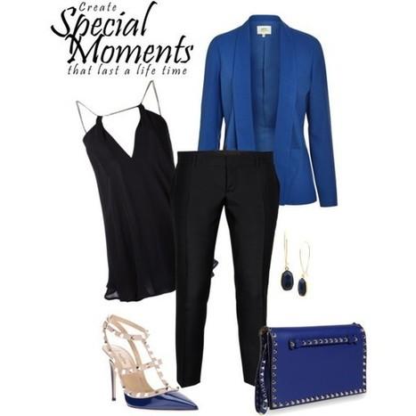 Blue ... Day 'n' Night!! | Fashionista 4ever | Scoop.it
