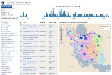 New Visualization and Hate Crime Mapping Tool Can Help Prevent Genocide | Data Visualization | Scoop.it