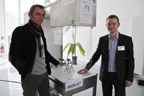 High-tech. On pourra travailler le froid dans une pièce à 20° avec le Pôle cristal | Innovation CCI Morlaix | Scoop.it