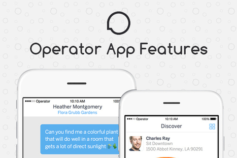 Will Operator, A Messaging powered Shopping App, Take on Amazon and eBay? | internet marketing | Scoop.it