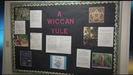 Wiccan holiday display removed from elementary school | The Halloween Witch | Scoop.it