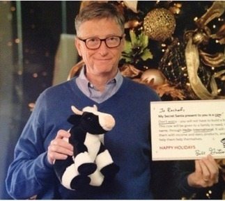 Reddit User Gets Bill Gates for a Secret Santa | Rise of Tech | Scoop.it