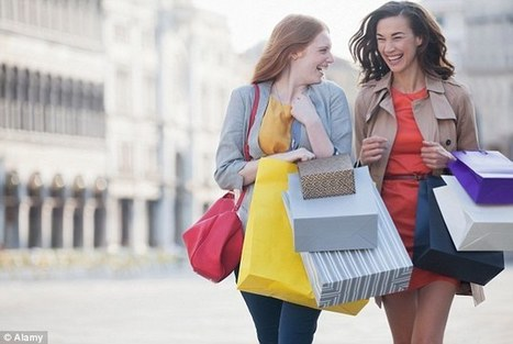 Can't control your shopping habit? You're probably an extrovert | Kickin' Kickers | Scoop.it