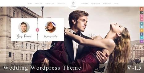 12 Cool Wedding WordPress Themes | EmBlogger | EmBlogger.com | Scoop.it