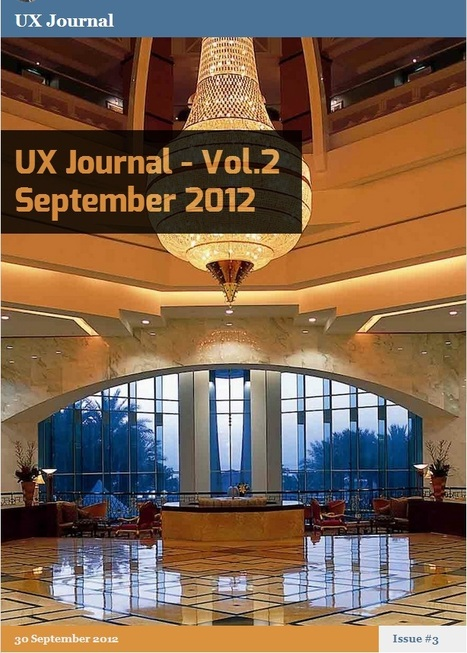 #UX Journal - Vol.2 September 2012 | Mind-bending Experience Design | Scoop.it