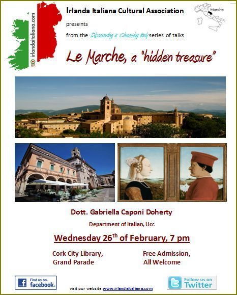 Discovering a charming Le Marche in Ireland   Le Marche another Italy   Scoop.it