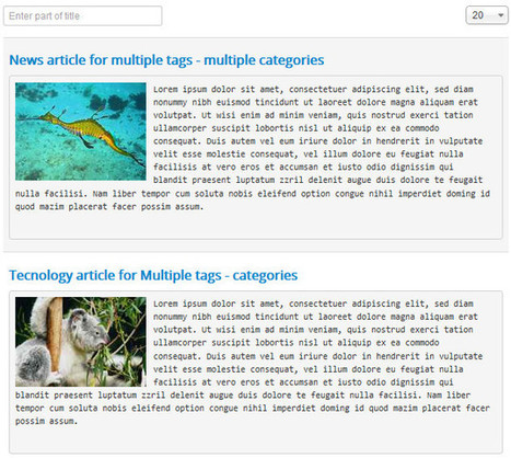 How  to publish Joomla! articles into multiple categories without 3rd extensions | Joomla responsive template | Scoop.it