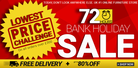Bank Holiday Sale at Furniture Direct UK - Lowest Price Guaranteed   Quality & Stylish Furniture   Scoop.it