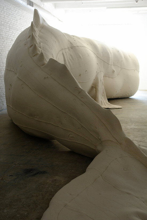 Mocha Dick, Giant Whale Sculpture by Tristin Lowe | VIM | Scoop.it