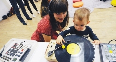Watch: New York's DJ School for babies is a real, head-spinning thing | DJing | Scoop.it