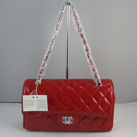 Chanel Red color with Silver chain Chanel_Series_115 151-replica Chanel 2.55 Series | replica chanel blog | Scoop.it