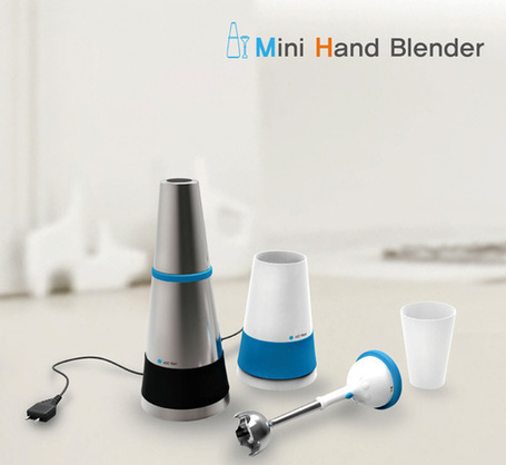 Mini Hand Blender by Eunhye Lim & Hyunjung Kim | Art, Design & Technology | Scoop.it