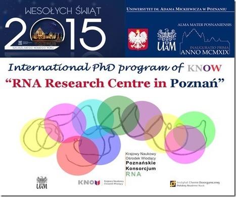 PhD @ The Adam Mickiewicz University | bioinforamtics | Scoop.it