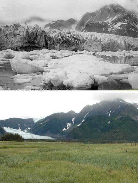 10 Terrifying Before and After Photos That Will Silence Global Warming Deniers | Sustainability | Scoop.it