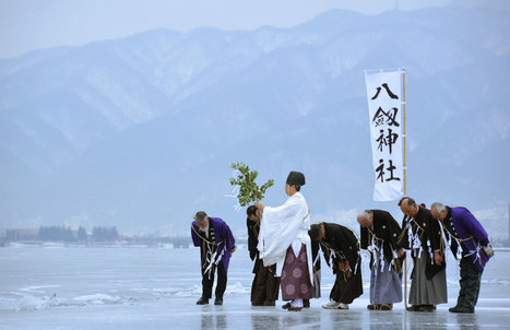 Japanese Monks Recorded the Climate for 700 Years | Sustain Our Earth | Scoop.it