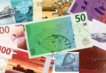 DESIGN • Norvège : les billets de banque les plus cools du monde | Monnaie locales | Scoop.it