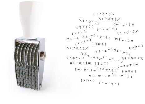 Kaoiro, An Emoji Stamper With A Retro Design | ASCII Art | Scoop.it
