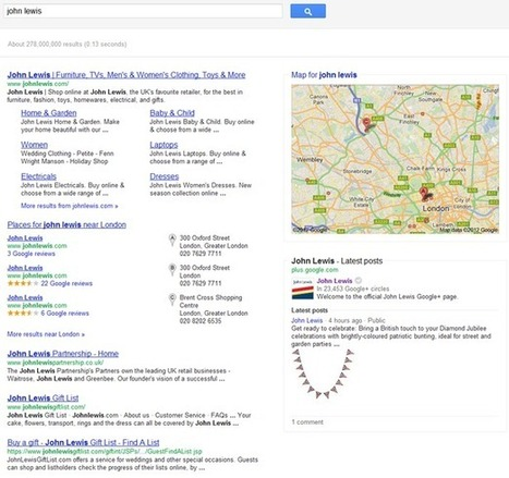 Google launches enhanced listings for brands - Econsultancy (blog) | Search Engine Marketing Trends | Scoop.it