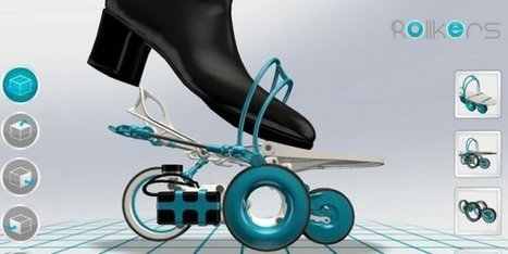 Comment des roulettes connectées permettent de marcher deux fois plus vite | Ressources pour la Technologie au College | Scoop.it