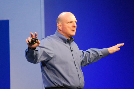 Ballmer: If I could 'redo the last 10 years,' Microsoft wouldn't be behind on mobile | Mobile (Post-PC) in Higher Education | Scoop.it