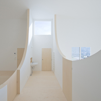 Brother's House by Hiroshi Kuno features walls you can step over | Jp | Scoop.it