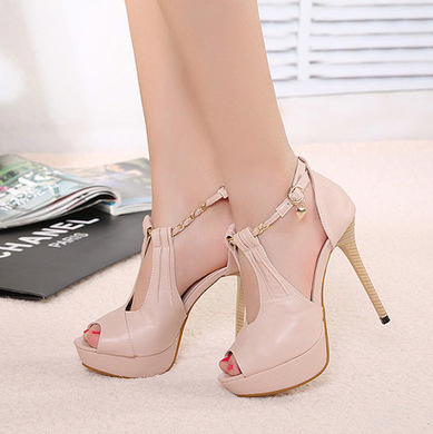 Wholesale 2013 luxury toe shoes for women XD-YX987-2 nude pink - Lovely Fashion | fashion chic styles(peep toe,pumps) | Scoop.it