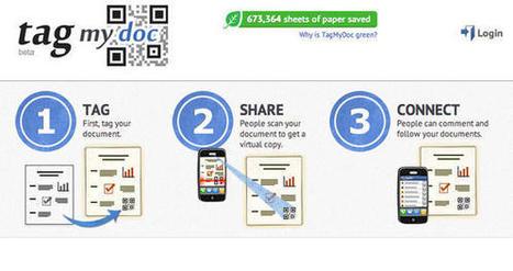 TagMyDoc : Partage de documents par QR Code | Le Top des Applications Web et Logiciels Gratuits | Scoop.it