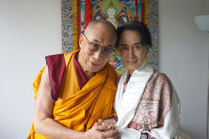The Office of His Holiness The Dalai Lama and Aung San Suu Kyi | The Blog's Revue by OlivierSC | Scoop.it
