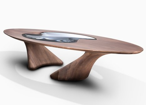Zaha Hadid's final furniture collection for David Gill based on mid-century wooden antiques | DESIGN NOW | Scoop.it