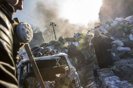Kiev's Battlefield: Protests Ignite Fiery Clashes in Ukraine   TIME.com   Modern Middle East   Scoop.it