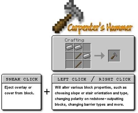 Carpenter's Blocks Mod 1.7.2/1.6.4/1.6.2/1.5.2 | allexynno2011 | Scoop.it
