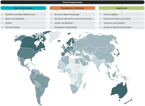Social Progress Index | Geography Education | Scoop.it