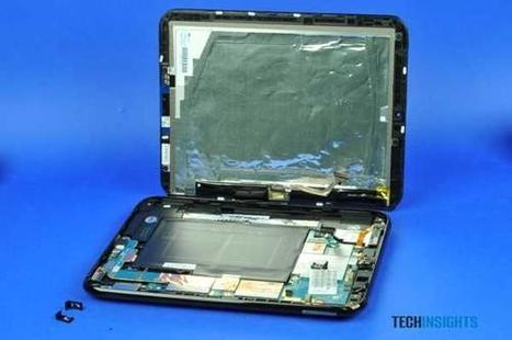 Design News - Features - Slideshow: HP TouchPad Tablet Teardown | Grist for the Inovo Mill | Scoop.it