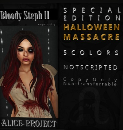 Free Bloody Hair at Alice Project | Second Life Freeness Huntress | Scoop.it