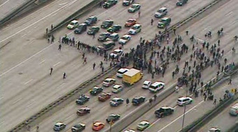 Justice 4 Trayvon Supporters Shut Down Multiple Freeways | Community Village Daily | Scoop.it