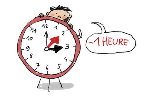 C'est quoi le changement d'heure ? - | Mon calepin du FLE | Scoop.it