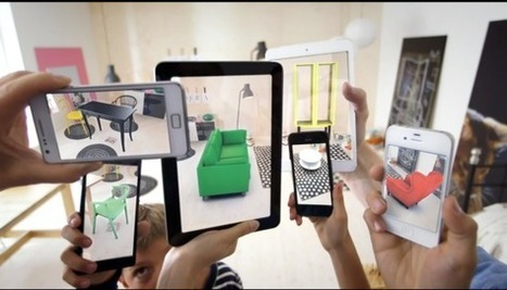 Ikea's new augmented reality app lets you preview digital furniture in your physical house | Mobile Technology | Scoop.it