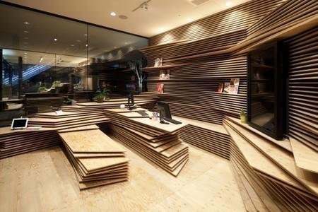 Shun Shoku Lounge / Kengo Kuma & Associates | Environmental design | Scoop.it