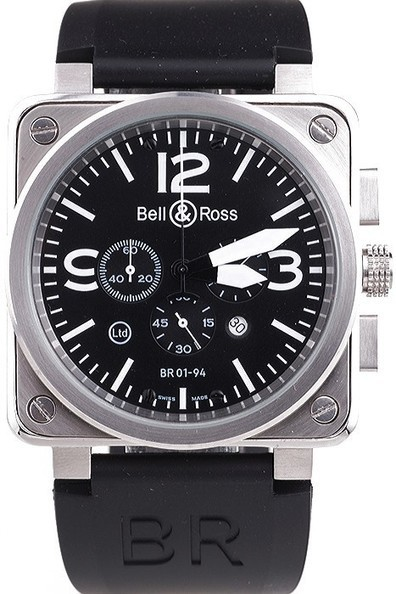 Bell & Ross Black-White Dial Replica Watch-$199.00 | Men's & Women's Replica Watches Collection Online | Scoop.it