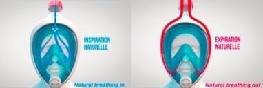 Un masque de plongée qui permet une respiration normale | Technologie et Innovation | Innovations sportives | Scoop.it
