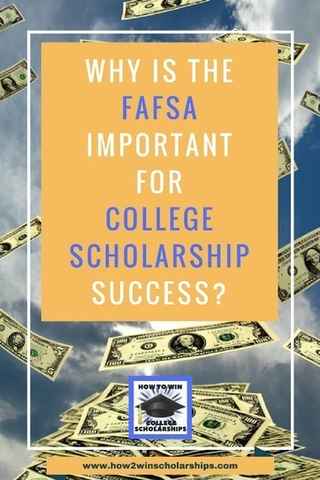 FAFSA is Important for College Scholarships and This is WHY | College Scholarships | Scoop.it