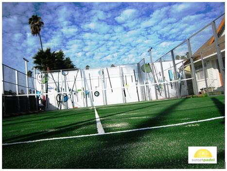 Try Padel at Sunset Padel, in Hollywood, California! | US Paddle ... | padel | Scoop.it