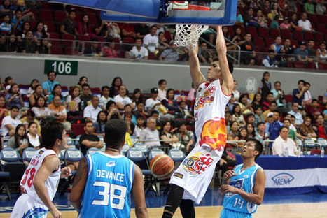 Rookie Raymond Almazan still hoping to see cousin Kerby Raymundo back in PBA | InterAksyon.com | Sports5 | Philippine Basketball Association at its finest | Scoop.it