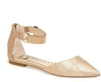 D'Orsay Flats - The Sexy Must Have Shoes This Spring | Fabolous after 40 | Scoop.it
