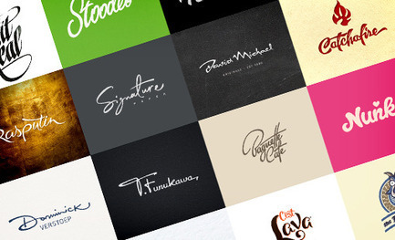 100 Awesome Logos With Script Typography | Design Shack | Logo | Scoop.it