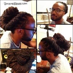 [Tutorial] Torpedo Locs Updo   CurlyNuGrowth   Locs, Dreadlocks, Natural Hair   Scoop.it