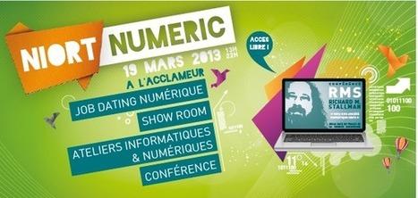 """Conférence de Richard Stallamn lors de l'événement """"Niort Numéric"""" [solidrnet]   NUMERIQUE EN REGION   Scoop.it"""