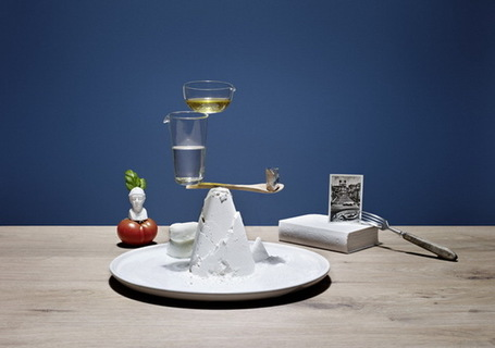 An Artist's Creative Interpretation of Well-Balanced Meals | Le It e Amo ✪ | Scoop.it