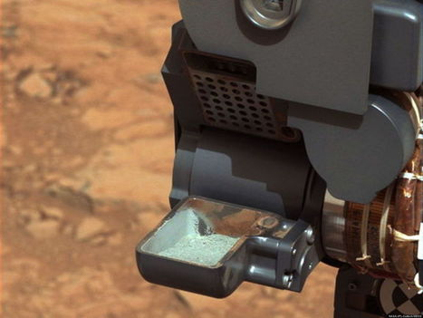 Curiosity Photos Spotlight Rover's Historic Drilling Effort | Planets, Stars, rockets and Space | Scoop.it