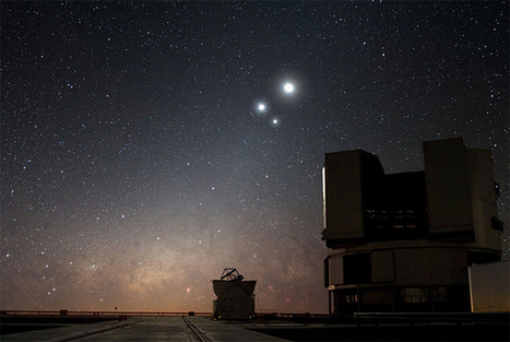 Watch the planets dance in a triple conjunction : Gizmo Tech News | Technology news | Scoop.it